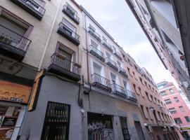 APARTAMENTOS CENTRO GRAN VIA PUERTA DEL SOL MALASAÑA,位于马德里的公寓