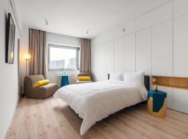 Stey智能精品服务公寓(北京798望京酒仙桥丽都),位于北京的酒店