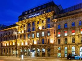 曼彻斯特波特兰宜必思时尚酒店,位于曼彻斯特的酒店