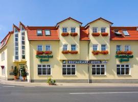 Hotel Deutsches Haus,位于Dingelstädt的酒店