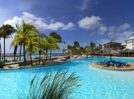 Chambre 3 étoiles Piscine et plage privé au Manganao,位于圣弗朗索瓦的酒店