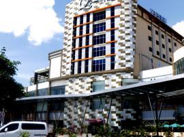 班加巴鲁格兰达法姆Q酒店  DHM伊斯兰教法, Martapura