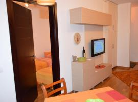 橙色休闲公寓
