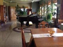 勒布特龙德库埃特咖啡厅住宿加早餐旅馆, Havre aux Maisons