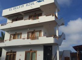 Hotel el Delfin Azul, Puerto Villamil