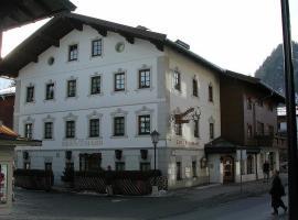 Hotel Garni Bernhard am See, 瓦尔赫湖