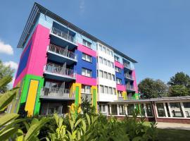 佩图尔城市花园公寓酒店