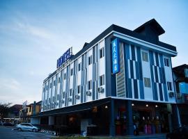 蓝天大酒店,位于士姑来苏丹依斯迈路机场 - JHB附近的酒店