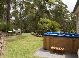 灌木丛景度假屋