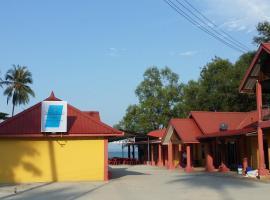 夏日海滩山林小屋