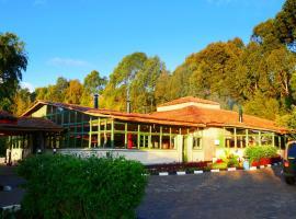Le Bambou Gorilla Lodge, Ruhengeri (Volcanoes National Park附近)