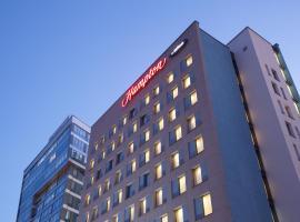 明斯克市中心希尔顿汉普顿酒店