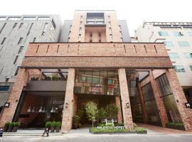 斯塔兹东滩酒店,位于华城市Paik Nam June Art Center附近的酒店