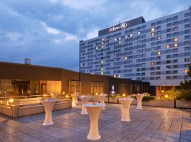 希尔顿杜塞尔多夫酒店,位于杜塞尔多夫的酒店