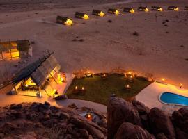 沙漠箭袋营旅馆