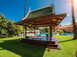 东方植物园水疗花园酒店,位于拉克鲁斯的酒店