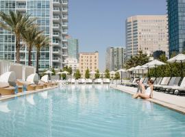 洛杉矶市中心完善居住套房LEVEL酒店