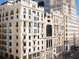 珀蒂宫翠柏酒店,位于马德里的酒店