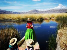 Paraje Del Titicaca Los Uros, Uros