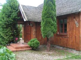 Dom z Sauną - Ługiele, Dzierwiany (Lake Vištytis附近)