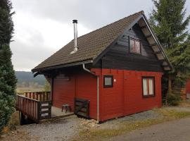 Chalet Belle Vue with sauna