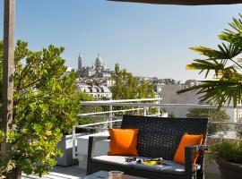 馨乐庭巴黎蒙马特尔酒店,位于巴黎的公寓