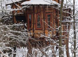 Kulturinsel Einsiedel - Wintertime Treehouse