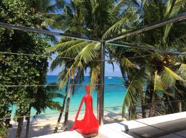 日落海滩一室公寓式酒店