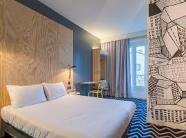巴黎意大利广场鹌鹑之丘宜必思尚品酒店
