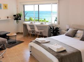 Studio with sea view in Limassol City Centre