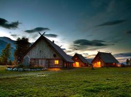 Viking Cabins - MIT FabLab - Solvik