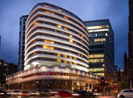 Mercure Liverpool Atlantic Tower Hotel,位于利物浦的酒店