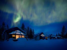 北极圈圣诞老人冰屋
