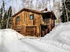 Wapiti Mountain Escape Guest Cabin