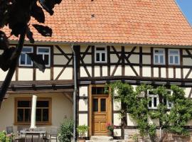 Holiday home Fachwerkhaus 1