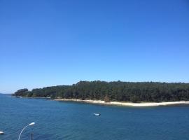 Apto. con terraza y vistas al mar