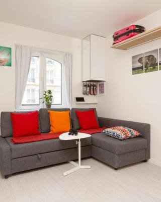 在圣日耳曼德培拉丁区巴黎圣母院奢华套房公寓