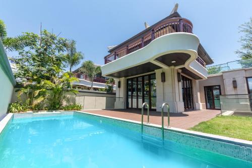 三亚仁恒海棠湾海岸度假别墅「离沙滩100米,毗邻亚特兰蒂斯水世界,免税城」
