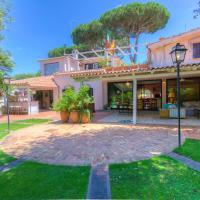 MR52★Fregene Luxury Garden Villa