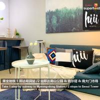 Hiii-Homtel Luxury Apt. - Chungmuro & Myeongdong