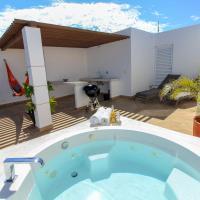 顶层公寓 - 含度假村场地内的私人屋顶和热水浴池