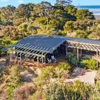 Twin Waters Paradise - Golden Bay Holiday Home (Pakawau Beach)