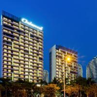 三亚奥克伍德雅居酒店公寓(带烹饪设施家庭之选),位于三亚的酒店