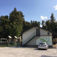 Apartment-Camp-Bar Grajski park Vitez,位于洛加泰茨的酒店