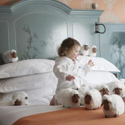 家庭/亲子酒店  89间家庭酒店位于博德鲁姆
