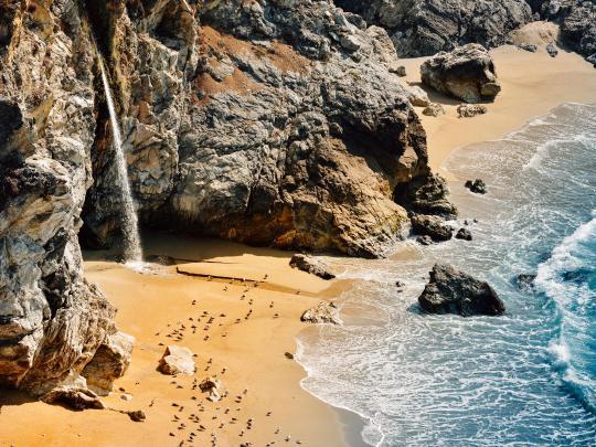 加州超美超梦幻的海滩集锦