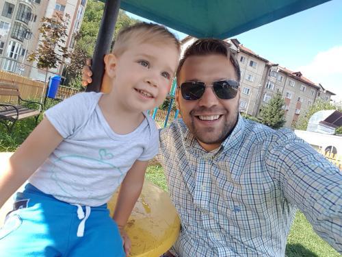 Cosmin si Matteo